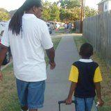 1 Teen's Side-by-Side First-Day-of-School Photos With His Dad Are Every Parent's Dream