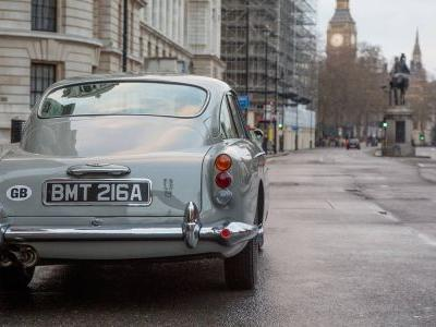 Aston Martin To Build 25 James Bond DB5's At R50 Million Each
