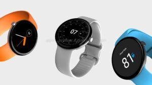 Pixel Watch renders show off rounded Apple Watch-like design
