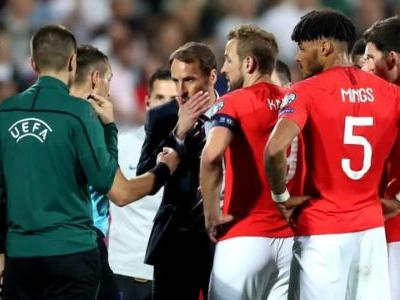 England soccer match twice suspended amid racist chants