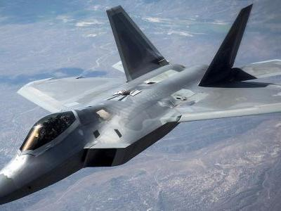 A US Air Force F-22 Raptor stealth fighter crashed just outside Eglin Air Force Base in Florida