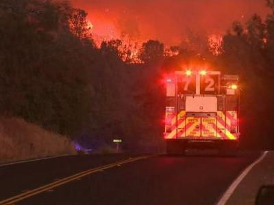 Video shows terrifying escape from Butte County flames