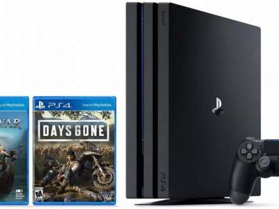 PS4 Prime Day Deals: PS4 Pro With God Of War And Days Gone For $350