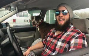 Man Makes 1300 Mile Roadtrip To Reunite Missing Dog With His Mom