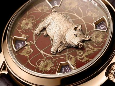 5 luxury Year of the Pig watches worth pigging out on