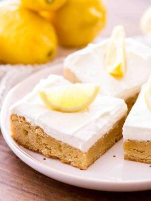 Lemon Bar Blondies