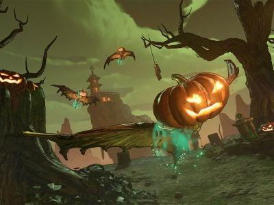 Borderlands 3's Halloween event includes Hecktoplasm, a skeleton boss, and new Legendary weapons