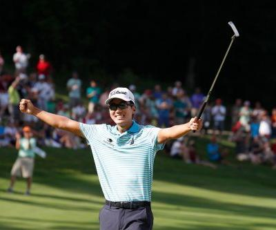 Michael Kim sets John Deere Classic record in dominant, validating win