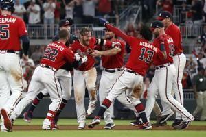 Donaldson's 9th-inning single lifts Braves over Nats 4-3