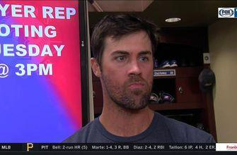 Cole Hamels on Rangers comeback win against Padres