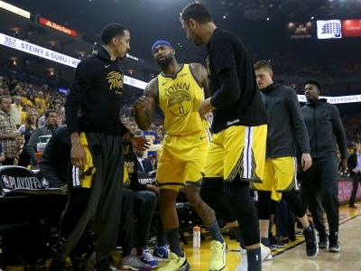 NBA playoffs 2019: Warriors' DeMarcus Cousins leaves Game 2 vs. Clippers with quad injury