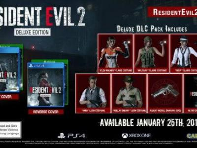 Here's What's Inside the Resident Evil 2 Deluxe Edition
