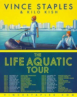 Vince Staples announces 2017 North American tour inspired by The Life Aquatic