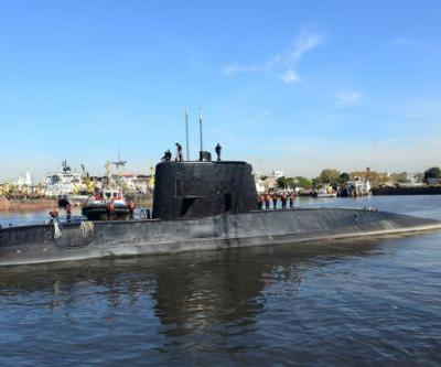 Argentinian submarine found in the Atlantic a year after going missing