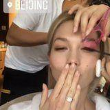 Forget Karlie Kloss's Engagement Ring, Do You See That Budget Mascara Guard?