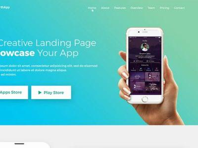 30 Best Of Landing Page Blogger Template Pictures