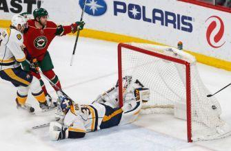 Zucker has 2 goals, assist as Wild beat Predators 5-2