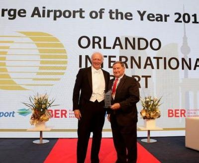 Orlando International Airport Recognized With Global Airport Of The Year Award
