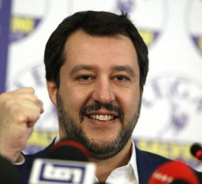 The Latest: Italy right-winger: Our economic ideas won vote