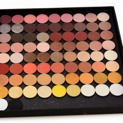 Sydney Grace Eyeshadow Swatches - Brown, Beige, Gold