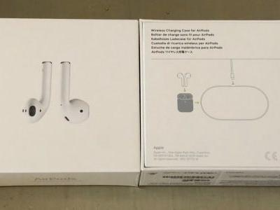 AirPower makes another appearance, this time on AirPods Wireless Charging Case packaging