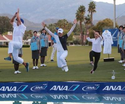 Desert practice and experienced caddie led Jin Young Ko to ANA Inspiration win