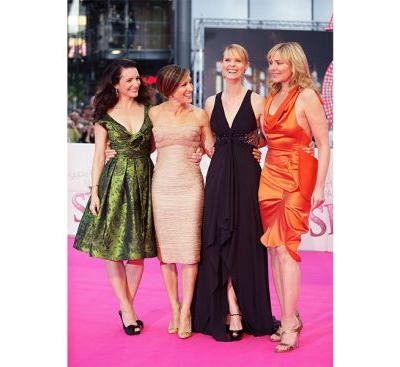 The Entire SATC Squad-Yes, Including SJP-Supports Cynthia Nixon's Run For Governor