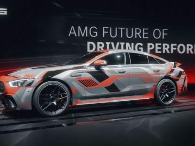 Drifting Will Recharge Your Mercedes AMG Hybrid's Battery
