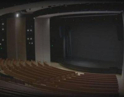 "Apple teases Monday event with ""livestream"" of empty Jobs Theater"