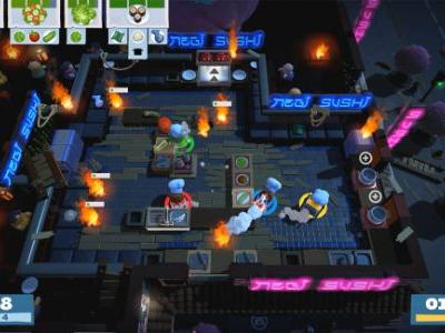Overcooked 2 chefs it up with online co-op against the night of the living bread