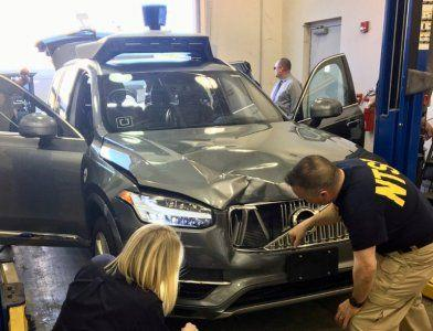 Uber driver was watching Hulu just before her self-driving car crashed and killed a pedestrian