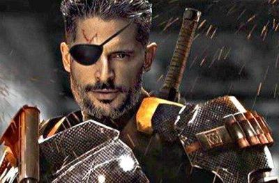 Deathstroke Goes Unmasked in New Justice League PhotoA new