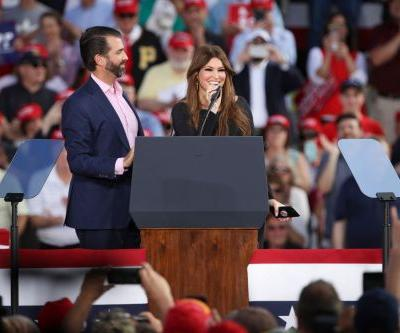 JUST IN: Donald Trump Jr.'s Girlfriend, Former Fox News Commentator Kimberly Guilfoyle, Reportedly Tests Positive for Covid-19