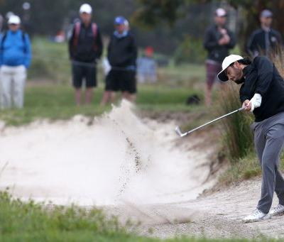 Ancer has answer at The Lakes, takes Australian Open lead
