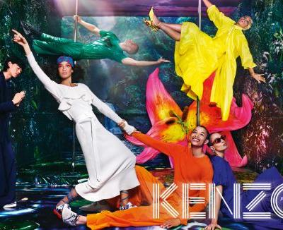 Kenzo Release Their SS19 Campaign, Photographed by David LaChapelle