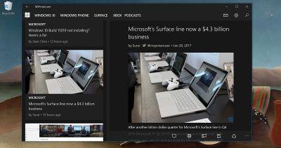 Official MSPoweruser UWP app updated with fixes and improvements