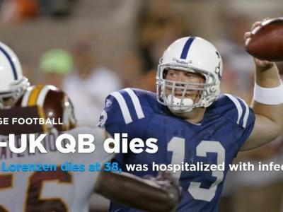 Ex-Kentucky, NFL QB Jared Lorenzen dies at 38