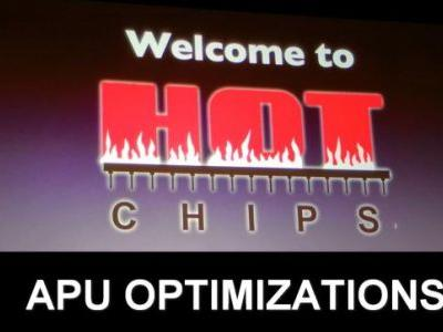 Hot Chips 2018: AMD APU Optimization Live Blog