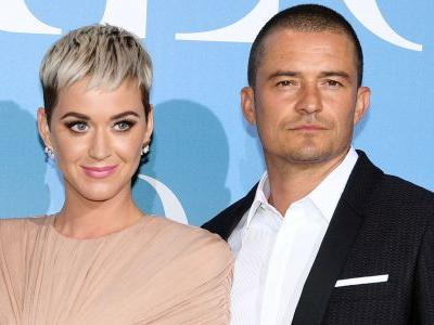 Katy Perry and Orlando Bloom Got Engaged On Valentine's Day and the Ring Is as Unique as the Pop Star