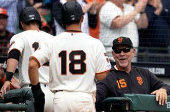 Giants top Rays after offensive outburst in the 5th