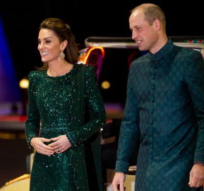 Kate Middleton and Prince William just made history with matching traditional outfits in Pakistan