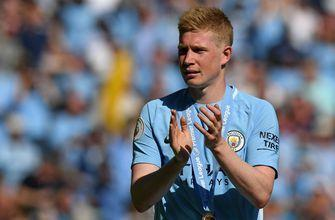 Pep Guardiola confirms midfielder Kevin De Bruyne out injured for up to three months