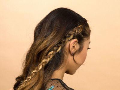 This Olivia Palermo-Inspired Braided Updo Is Perfect For Day 2 Hair