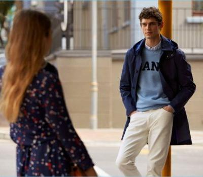 Arthur Gosse Embraces Collegiate Style for Gant Fall '18 Campaign
