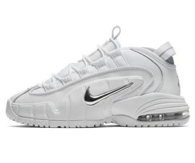 """Nike's Air Max Penny 1 Returns in """"White/Metallic Silver"""" This Summer"""