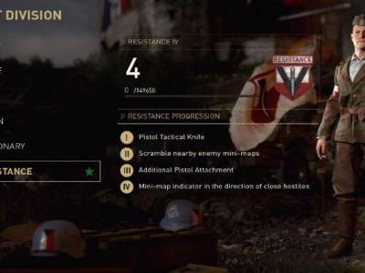 Call of Duty WW2: Resistance Division Perks Revealed