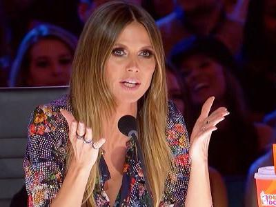 Some America's Got Talent Fans Are Annoyed With Heidi Klum's Golden Buzzer Choice