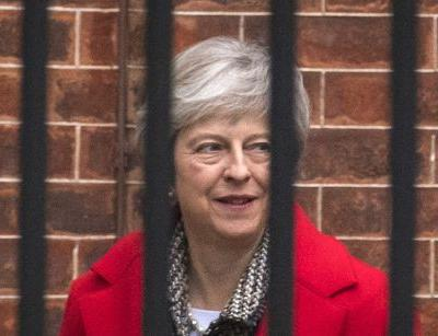 UK's May on collision course with party rebels over Brexit