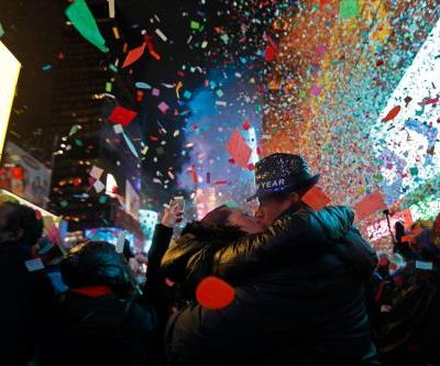 Times Square crowd welcomes 2019 with 'unity and love'