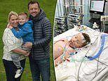 Father, 42, saves his seven-year-old son's life by performing CPR after a cardiac arrest